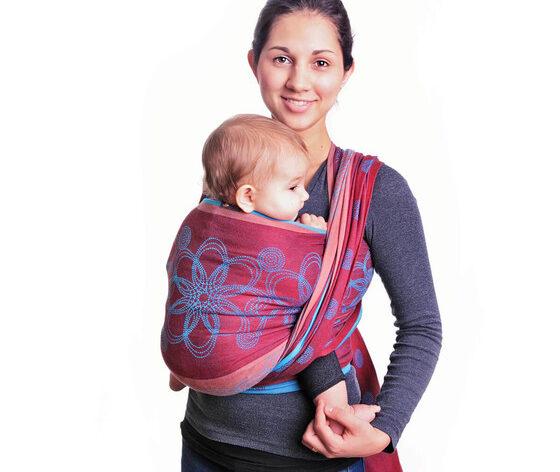Hoppediz Baby woven Wrap Sling Marrakesch