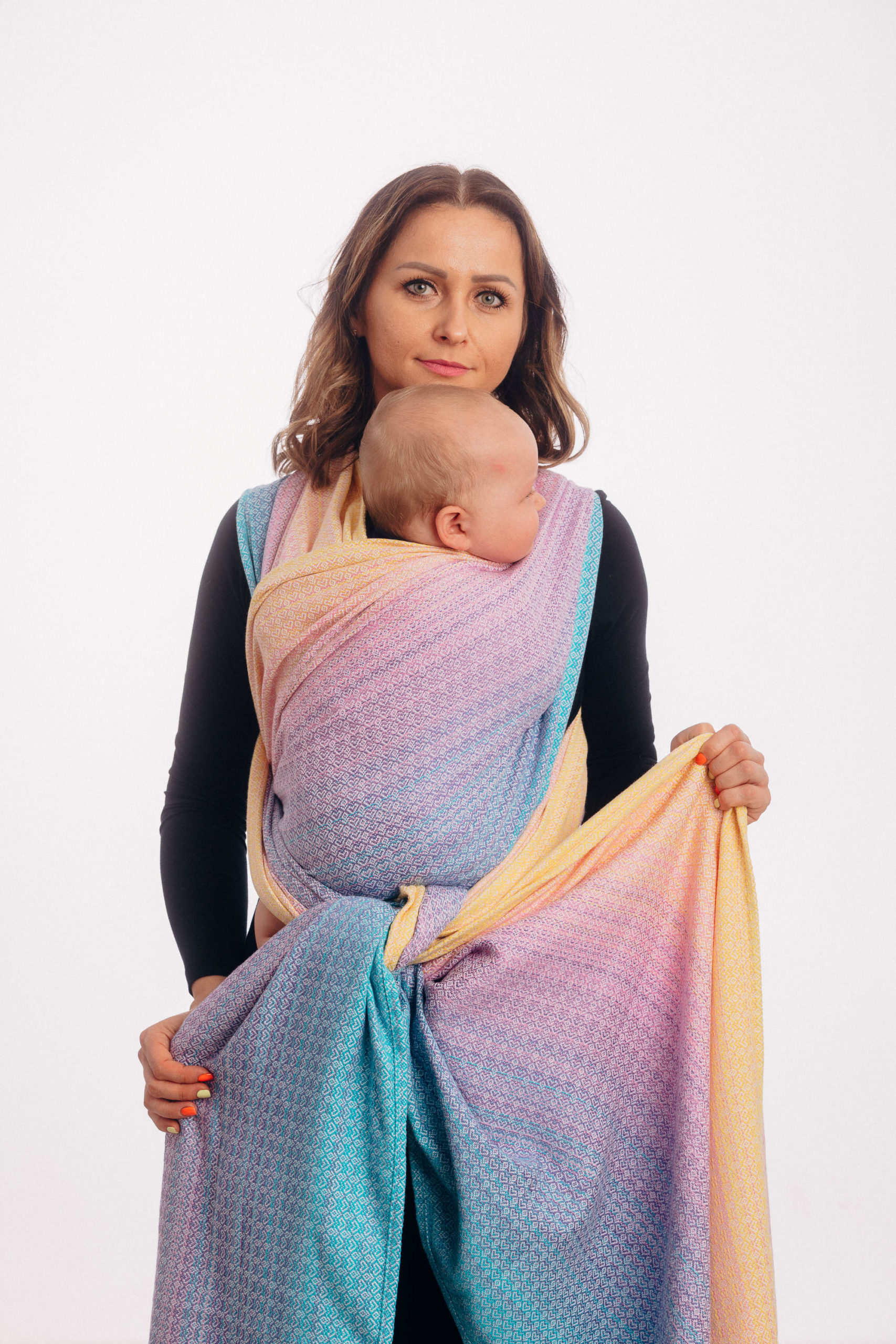 Lennylamb Woven Wrap Jaquard Little Love