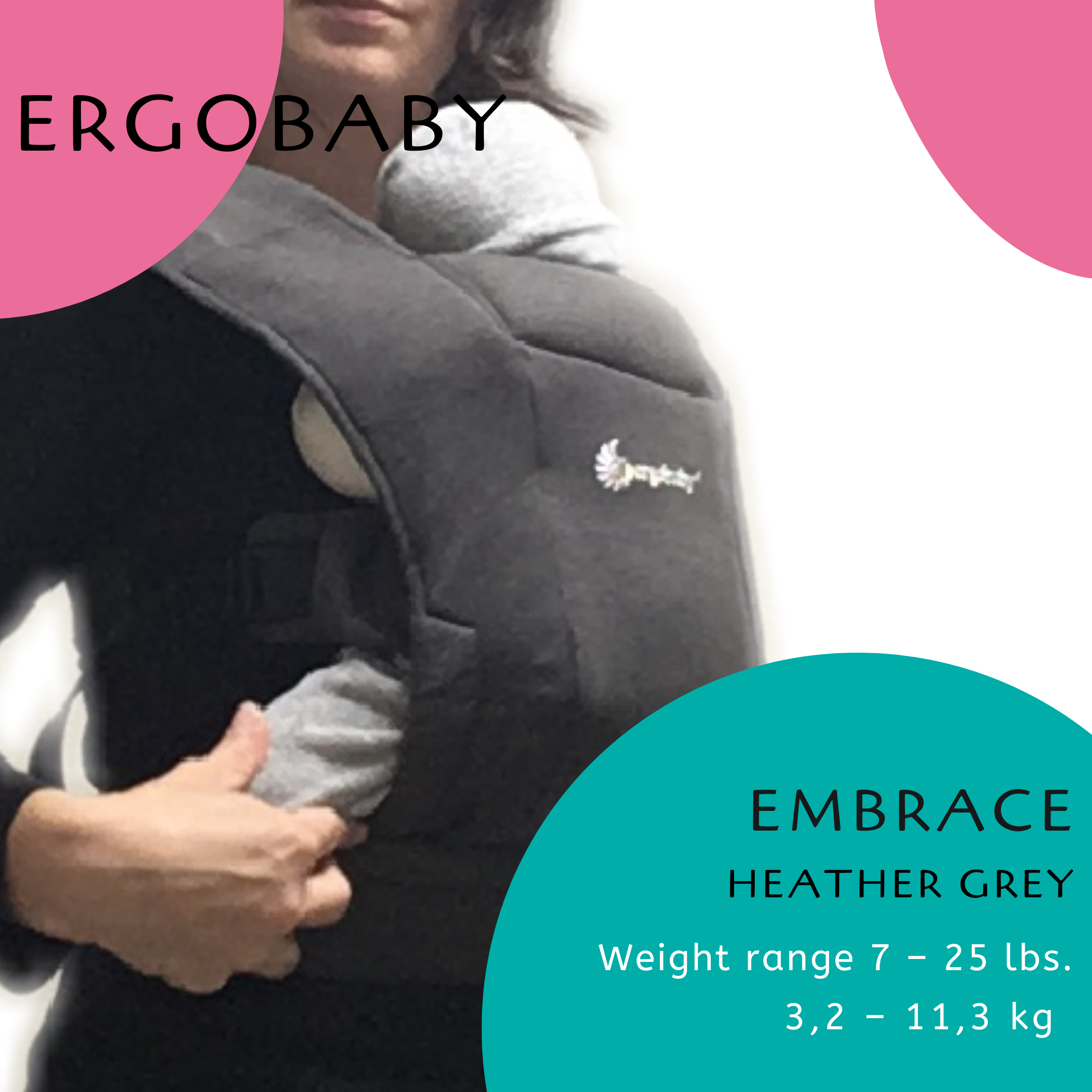 Tokyo Sling Library Ergobaby Embrace