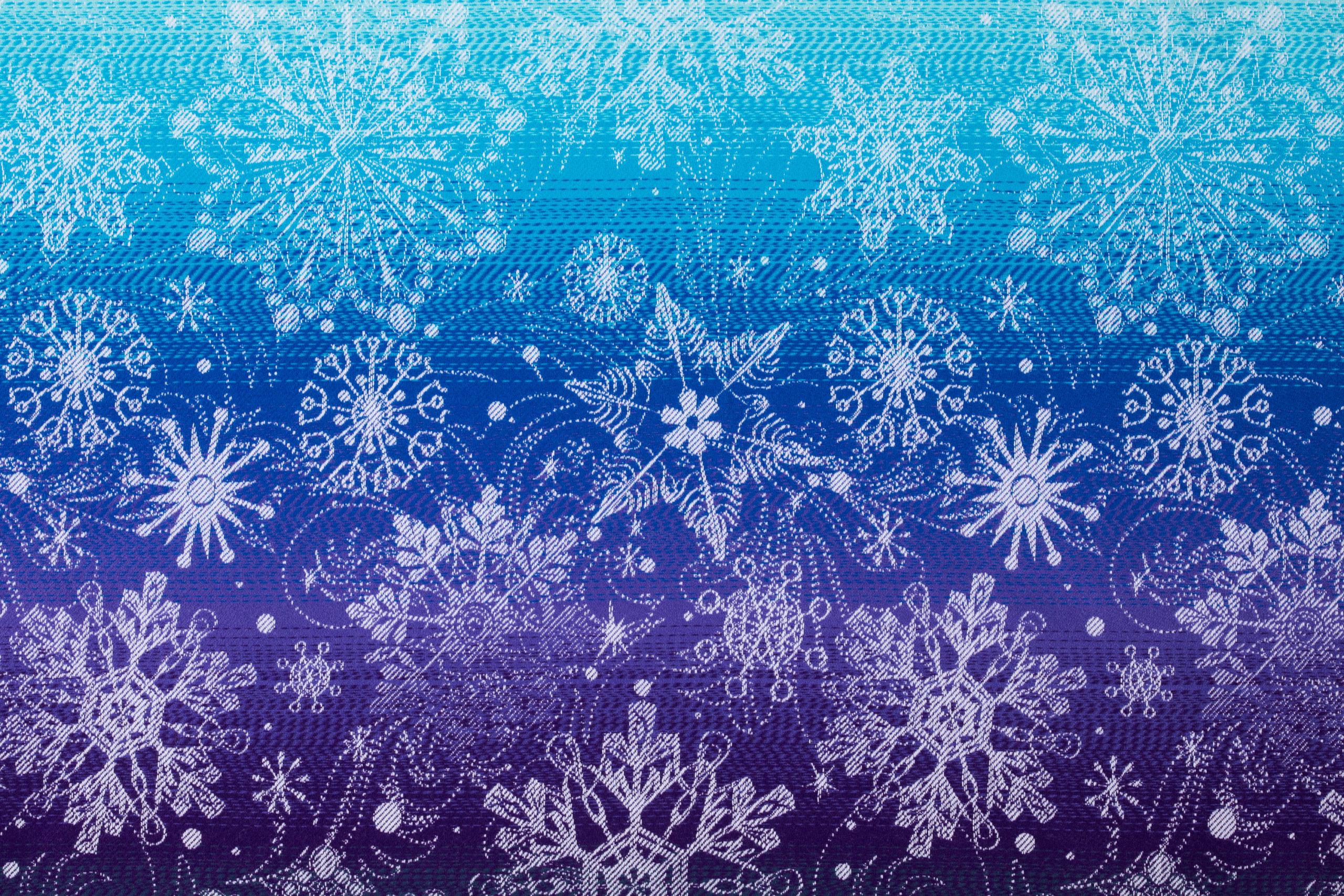 LennyLamb Woven Wrap Jaquard Snow Queen Crystal