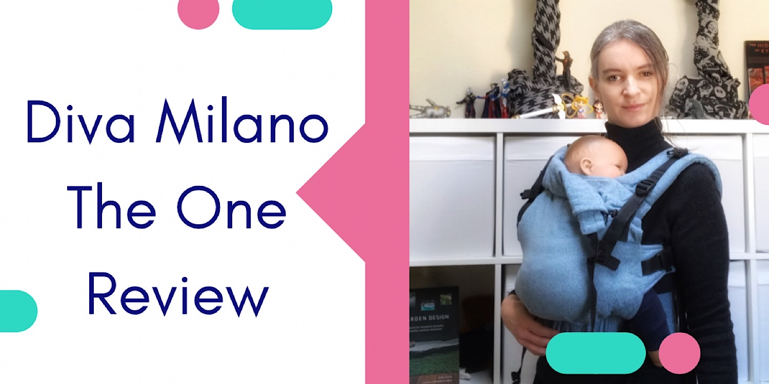Testing the Diva Milano Baby Carrier
